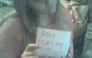 Mijn bloemkolen zijn van Amy