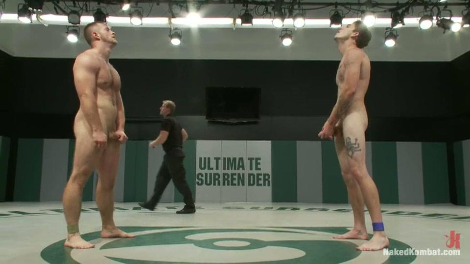 Een potje homo boksen de winnaar krijgt een zuig beurt