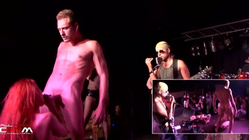 Muziek en sex op het podium