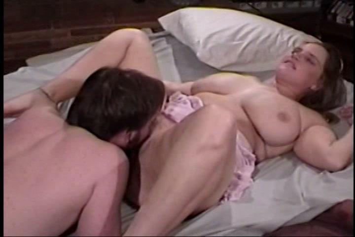 Sex met een wulpse volle vrouw