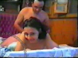Egyptisch sekskoppel maakt sexvideo, cum in schaamhaar