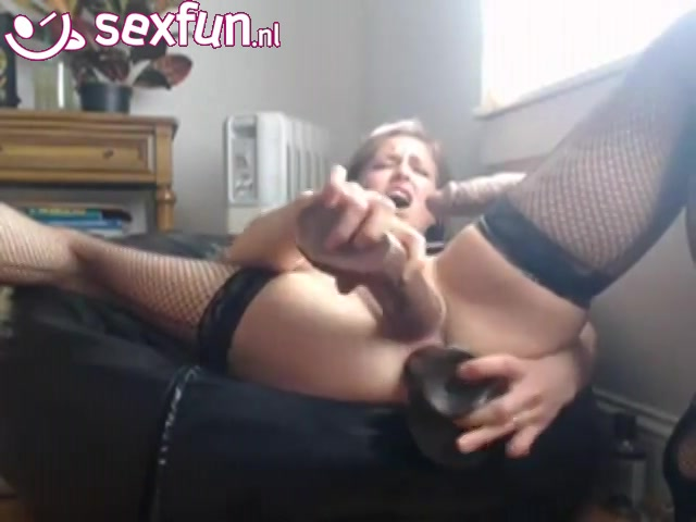 seks fun met twee nep pikken