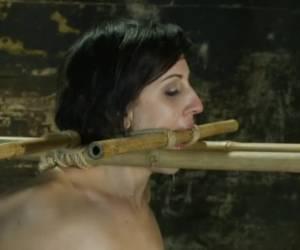 Om de beurt neuken de stijve lullen haar anal